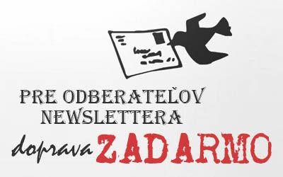 Využite dopravu zadarmo! Je to jednoduché. Stačí, keď sa na našej stránke http://uniqueinvitations.eu/ prihlásite na odber newslettra a následne budete pravidelne informovaný o všetkých novinkách na Unique Invitations.