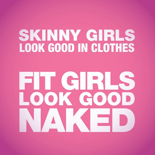 Exif | Skinny Girls Look Good in Clothes. Fit Girl Look Good Naked. | Flickr - Photo Sharing!