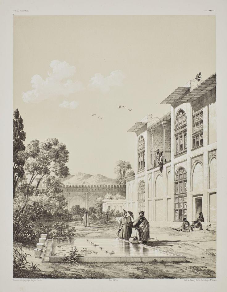 Flandin, Eugène, and Pascal Coste  [VOYAGE EN PERSE. PARIS: GIDE ET BAUDRY, 1843-1854]