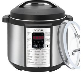Buy this COSORI 6 Quart 7-in-1 Multi-Functional Electric Pressure Cooker with deep discounted price online today.