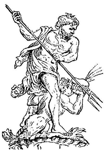 Poseidon coloring page Fun Coloring Pages for Kids and