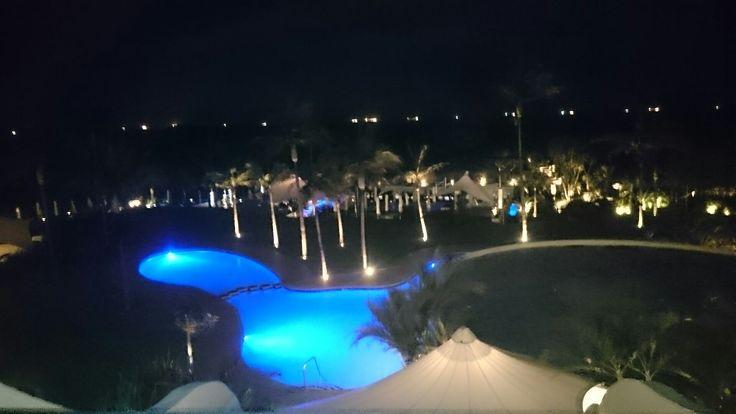 Breakers Resort at night