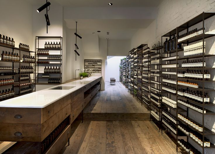 Aesop islington by cigu aesop retail and north london for Retail interior design agency london