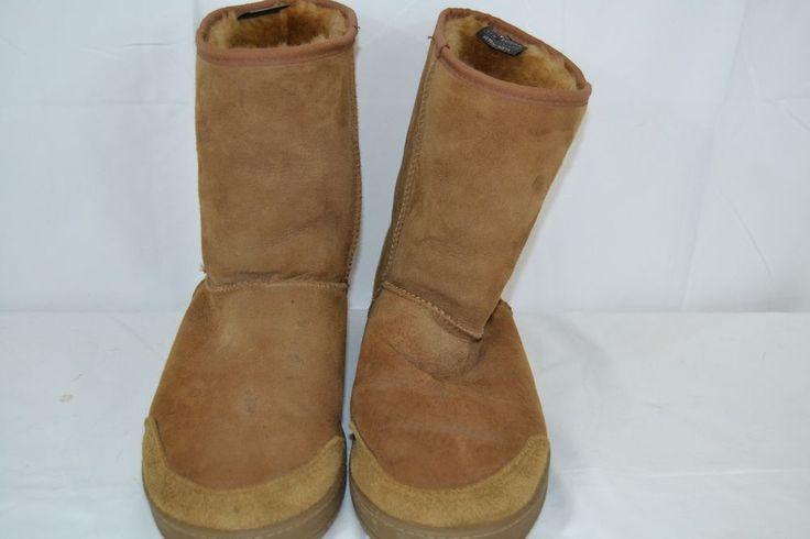 Kiwi Gear  from New Zealand Suede Boots Men's US 11 Tan/Brown #KiwiGear #SnowWinter