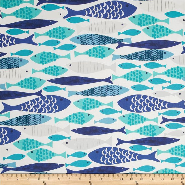 17 best images about favorite quilt fabric on pinterest for Fish fabric for quilting