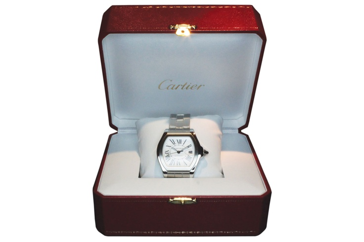 Buy a Cartier, Roadster Automatic. Made in 2010 watch in Classifieds on Presentwatch.com