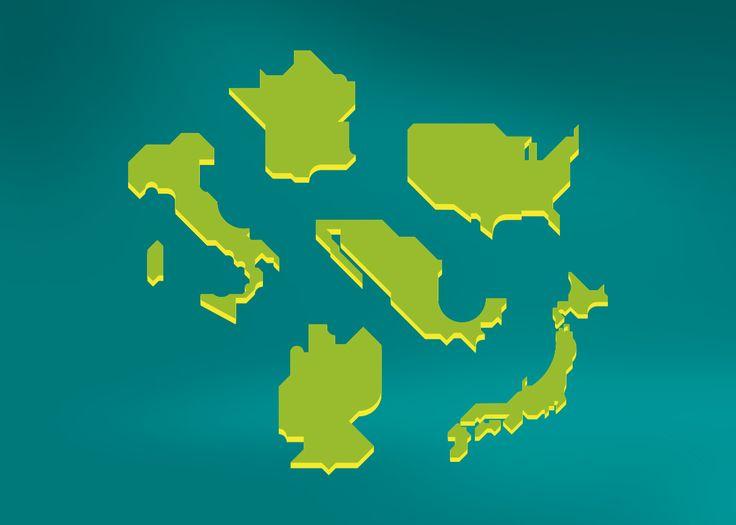 Ms de 25 ideas increbles sobre Ilustraciones de mapa en