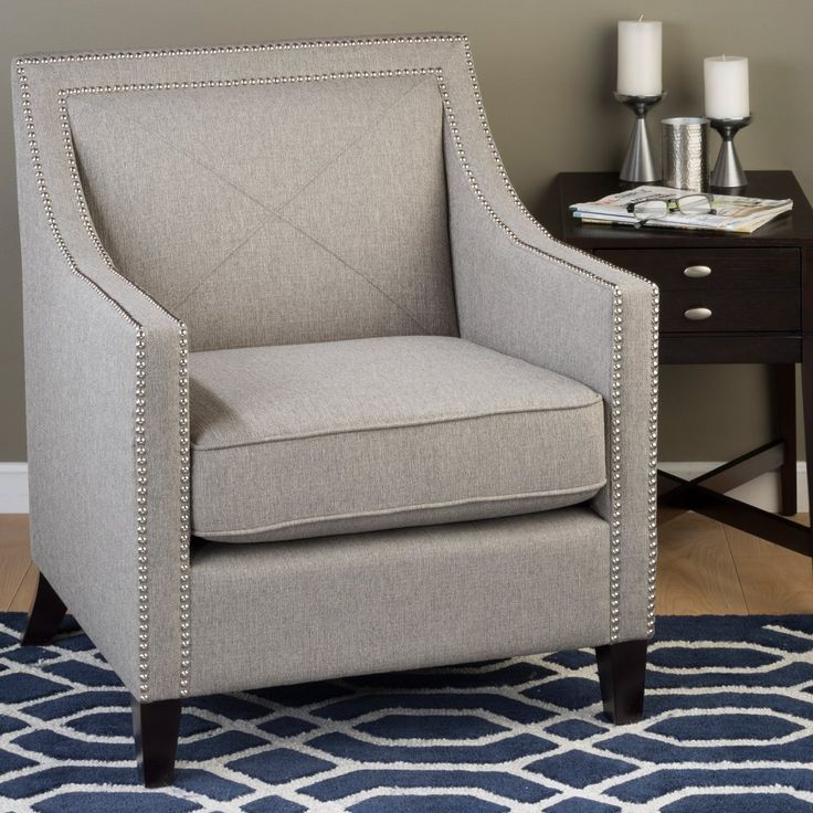 upholstered armchairs living room jofran luca club chair accent chairs at hayneedle 14891