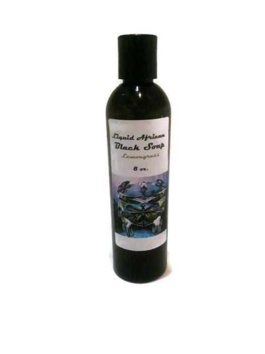 Liquid African Black soap by KedahNaturals on Etsy