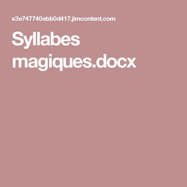 Syllabes magiques.docx
