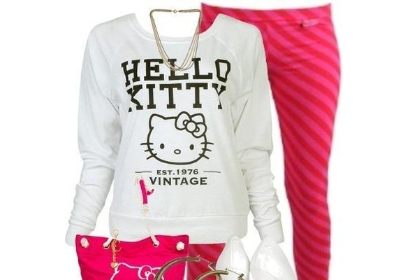 Hello kitty outfit! !