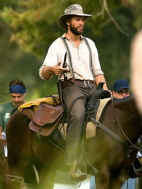 Liam Hemsworth Is a Handsome Old-Fashioned Cowboy in By Way of Helena - Us Weekly