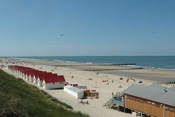 Domburg Beach Zeeland  Netherlands