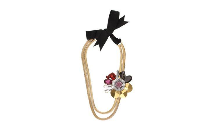 Florid Long Necklace! PARFOIS| Handbags and accessories online