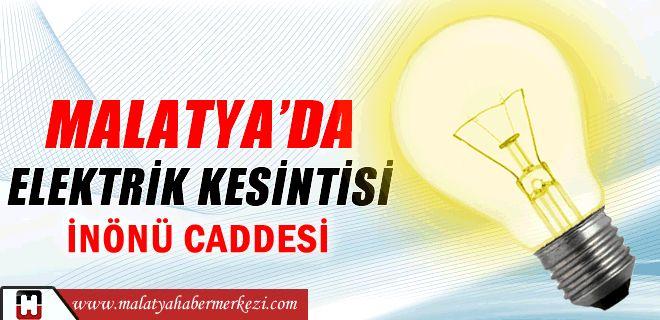 MALATYA'DA ELEKTRİK KESİNTİSİmalatya haberi:http://www.malatyahabermerkezi.com/haber-45933-malatyada-elektrik-kesintisi.html