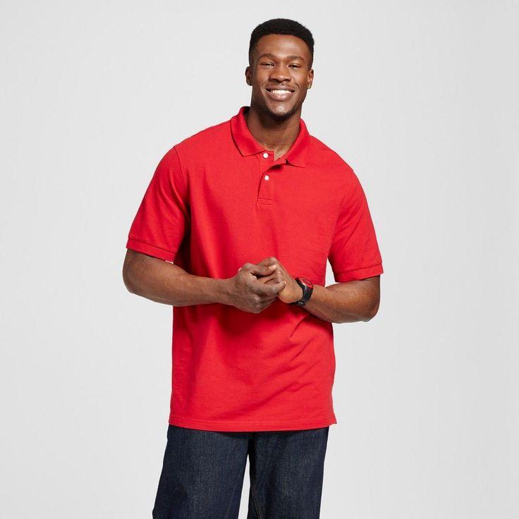 Men's Big Polo Red 3XB - Merona, Shirts & Tops