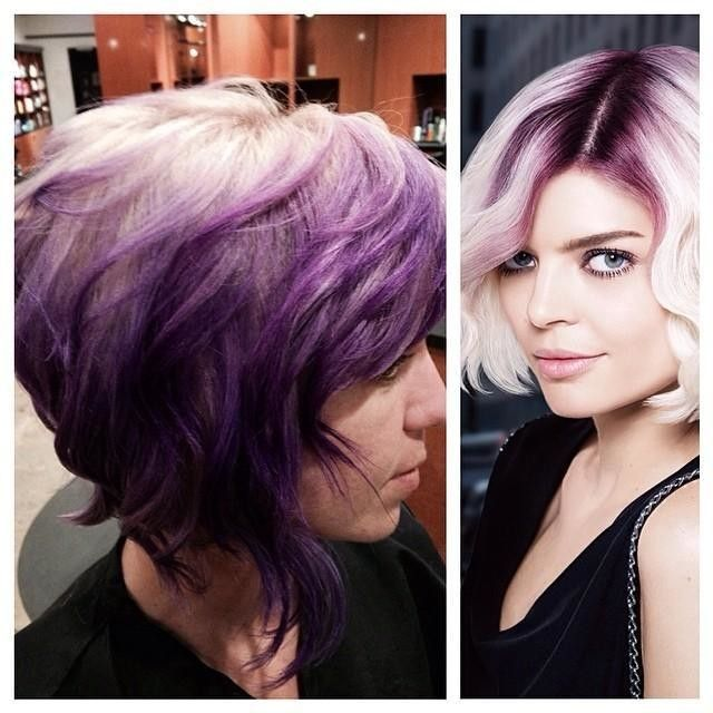 Wish I was ballsy enough to do a color like this. I could hide my gray in the blonde without going totally blonde.