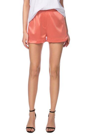 Короткие «пижамные» шорты с сатиновым блеском Libellulas / 2000000108698