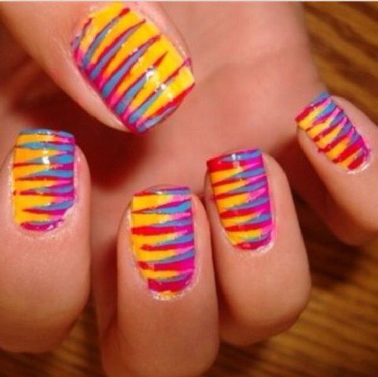 12 best water marble nails images on pinterest nail art ideas water marble nails without water prinsesfo Gallery