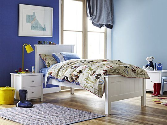 Polo Single Bed Frame with Full Panel Headboard main product image 1