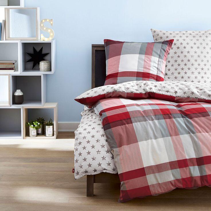die besten 25 bettw sche kariert ideen auf pinterest moderne bettw sche sets w scheschrank. Black Bedroom Furniture Sets. Home Design Ideas