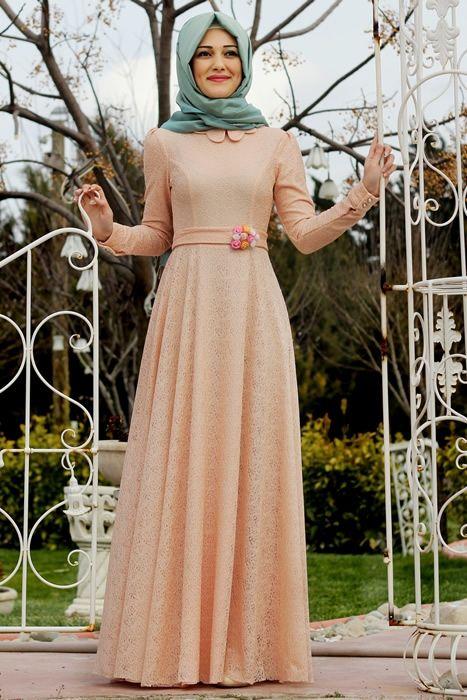 Gamze Polat Somon Masal Abiye Elbise