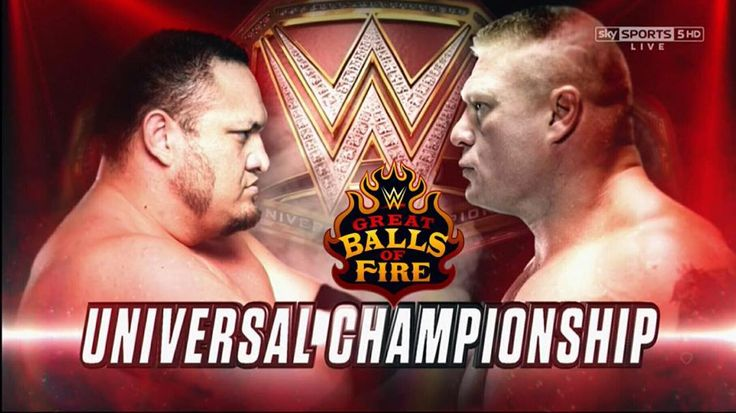 For the @WWE Universal Championship Brock Lesnar vs @samoajoe_wwe on @youtube! . . https://youtu.be/PboN0jd1-3Y . . . #prowrestling #wrestling #professionalwrestling #indiewrestling #mma #fight #mixedmartialarts #fighting #youtube #youtuber #content #contentcreator #GreatBallsofFire #wwe #gbof #wwegbof #samoajoe #brocklesnar #wwegreatballsoffire #universaltitle #universalchampion #universalchampionship