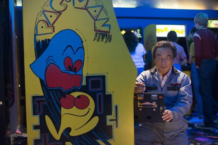 Some things can't be fixed: The real-life creator of Pac-Man, Toru Iwatani, makes a cameo in
