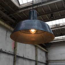 Lampe im Industriestyle von der Manufaktur Bolichwerke aus BW