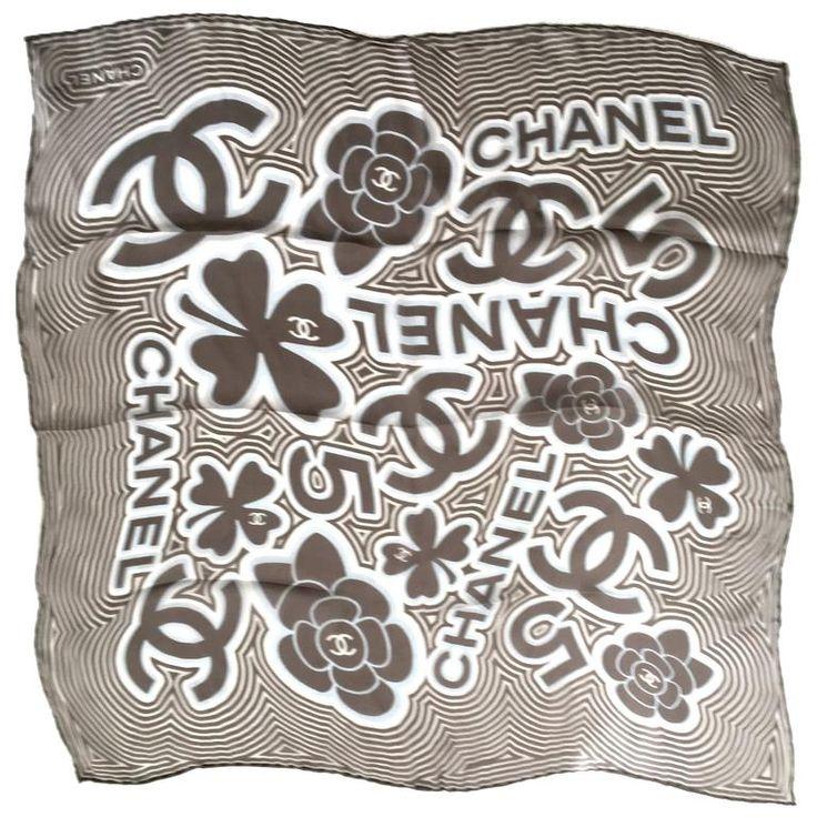 Chanel Scarf - 100% Silk Muslin