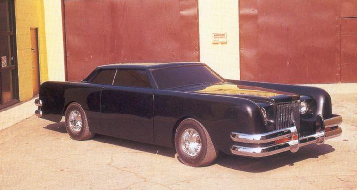 The Car A 1971 Lincoln Continental Mark Iii Customized By George