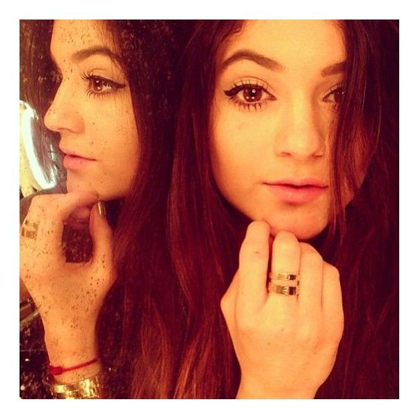 Kylie Jenner's 16 best selfies ❤ liked on Polyvore featuring kylie jenner, hair and kylie
