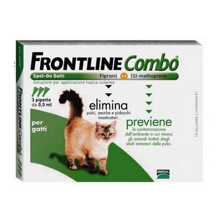 FRONTLINE COMBO GATTO, 3 PIPETTE  20,70 €. #antizecchegatti #gatti