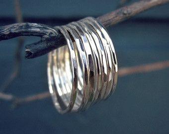 Druzy nero anello argento ossidato di UntamedMenagerie su Etsy