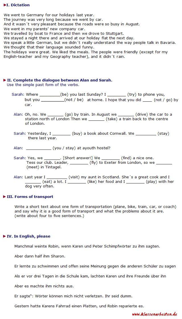 20 Arbeitsblatt Englisch Klasse 5 | Bathroom | Pinterest