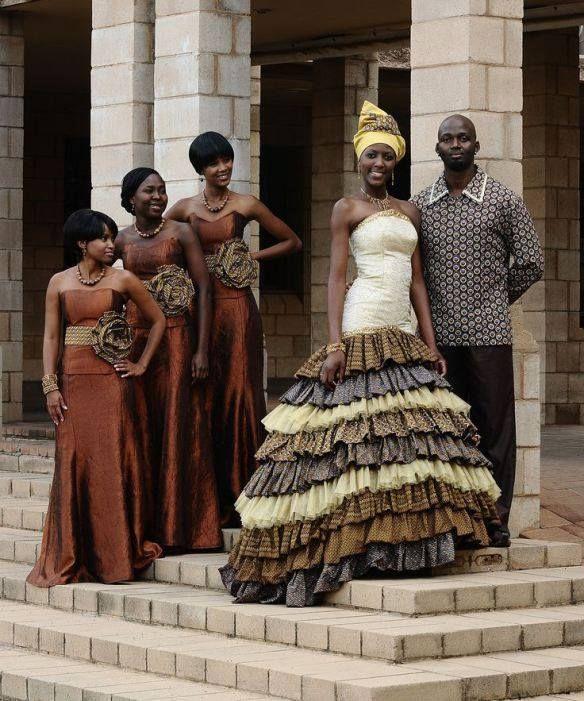 African Wedding...