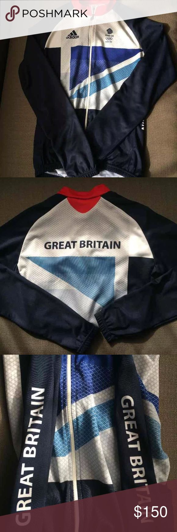 NWT Team GB cycling jersey Stella McCartney for Adidas Size large Official Team GB cycle jersey for 2012 Olympics Limited edition Adidas by Stella McCartney Shirts