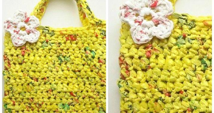 Plastic Tote Bag
