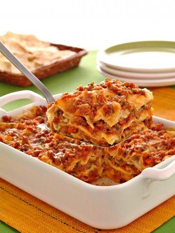 Donna Moderna: Lasagne di pane carasau con ragù e pecorino sardo Foto 5