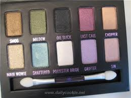Urban Decay Ammo palette. Very useful to start with good makeup