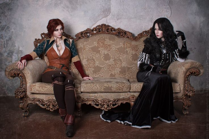 ladies of The Witcher 3: Wild Hunt, Yennefer of Vengerberg and Triss ...