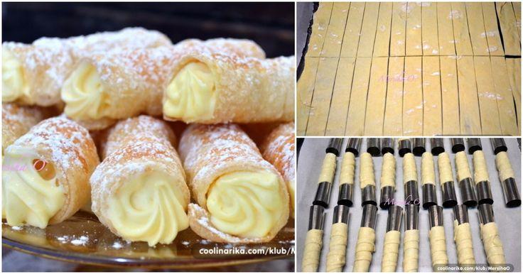 Starý recept na domáce trubičky s vanilkovým krémom ma naučila moja babka a sú lepšie než tie kupované | Chillin.sk