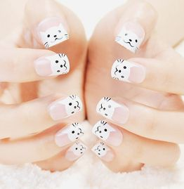korean nail design~#slimmingbodyshapers   How to accessorize your look Go to slimmingbodyshapers.com  for plus size shapewear and bras