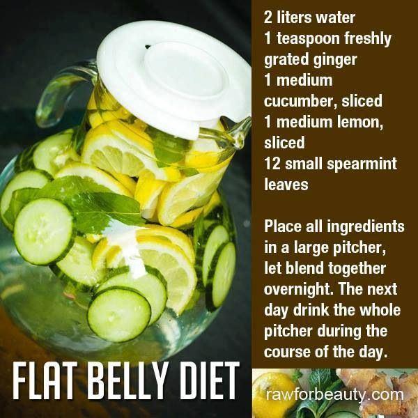 Flat belly water - beat the bloat!