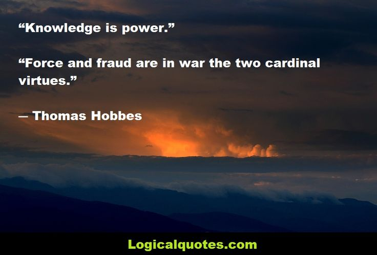Thomas Hobbes (5 April 1588 – 4 December 1679), was an English philosopher. This post features some Inspirational Thomas Hobbes Quotes.