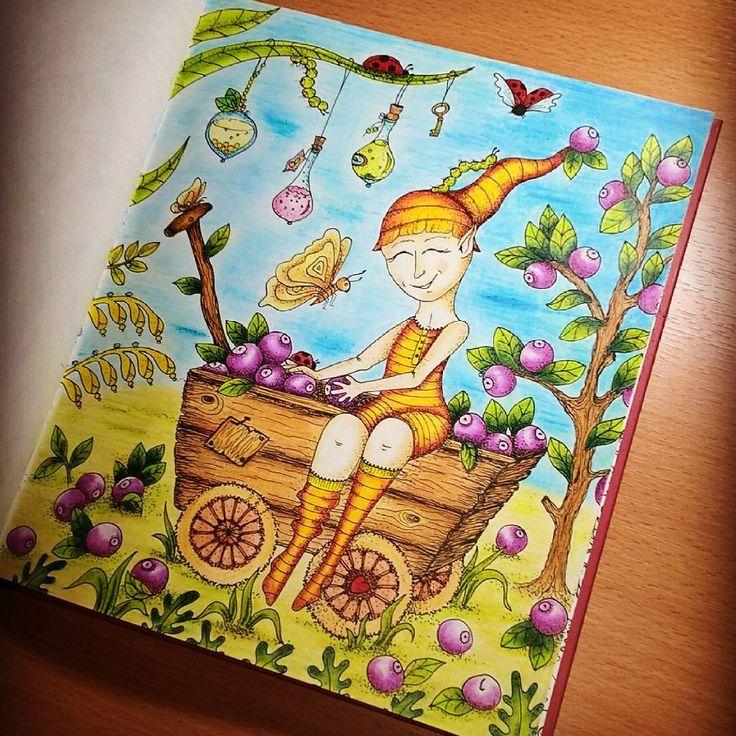 Nová omalovánka od české autorky #klaramarkova jsou úžasné / The new coloringbook by Czech author #klaramarkova are amazing . #omalovankyprodospele #omalovanky #carovnelahodnosti #stresscoloringbook #artterapy #coloringbook #coloursoft #derwent #polycolor #pastelkouprotistresu #coloringtherapy #coloringforadults #adultcoloring #adultfoloringbook #amazing #skritek #czechcoloringbook