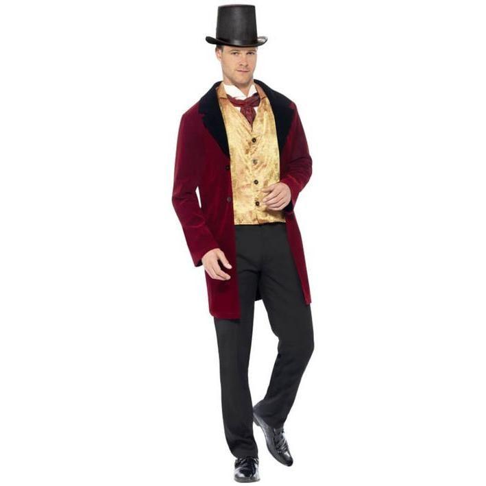Disfraz de caballero inglés siglo XIX para hombre