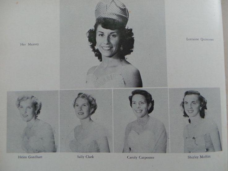 1954 Excelsior High School Norwalk California Original YEARBOOK El Aviador