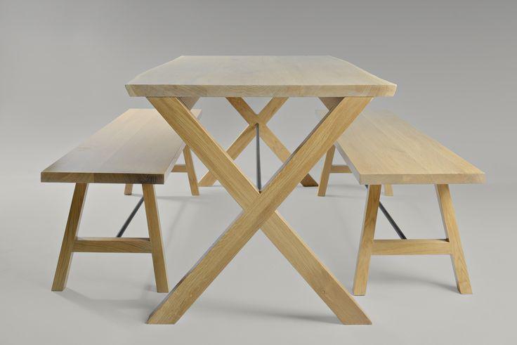Peter Pan bench, Spartacus table. Moromou
