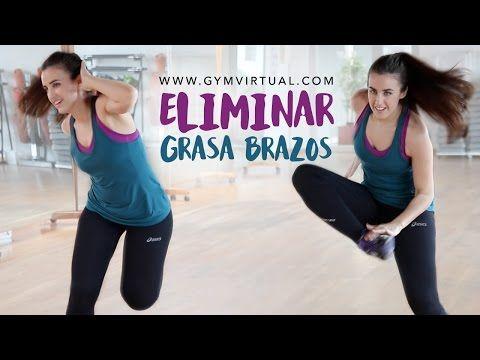 RUTINA PARA TONIFICAR Y ELIMINAR LA FLACIDEZ DE LOS BRAZOS| Adelgazar los brazos - YouTube